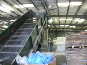 Paper Recyclying, Plastic Recycling and Aluminum Recycling Center